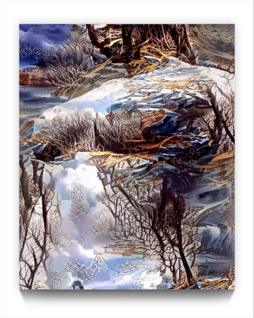 NEURALiSM . EVA A by new media Digital artist Mark Sedgwick