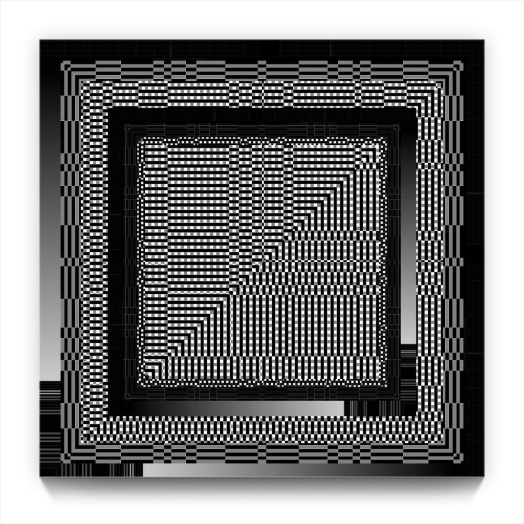 Schrödinger's Cat . original non-derived digital iphone art