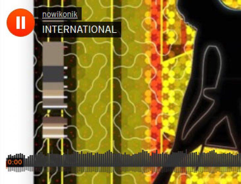 INTERNATIONAL . Improvised iPhone Music