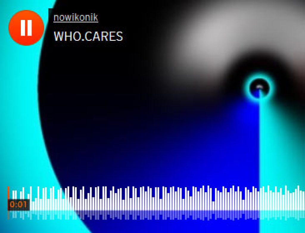 WHO CARES . IMPROVISED iPhone Music
