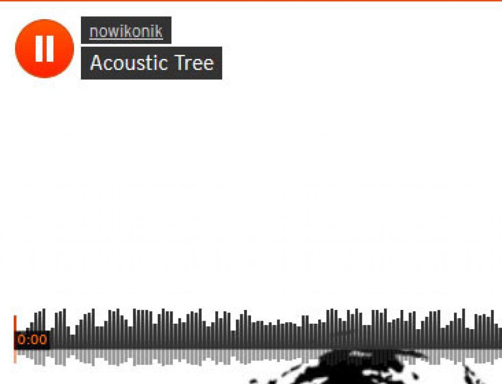 acoustic tree . improvised iphone music
