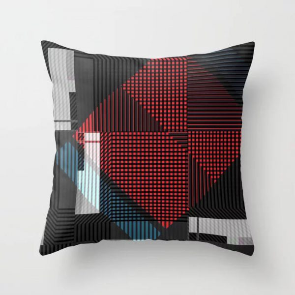 ADDICTIVE THROW PILLOW