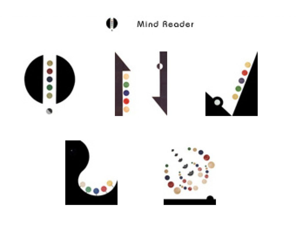 Mind Reader Online Game by new media artist Mark Sedgwick