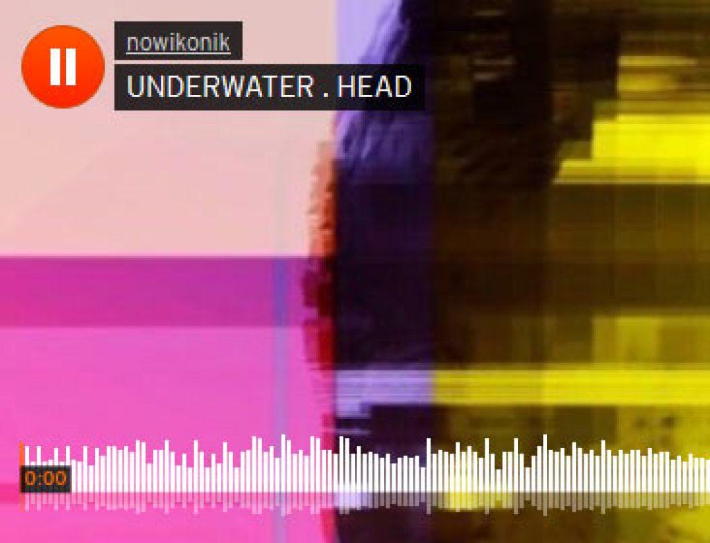 UNDERWATER HEAD . improvised iPhone Music