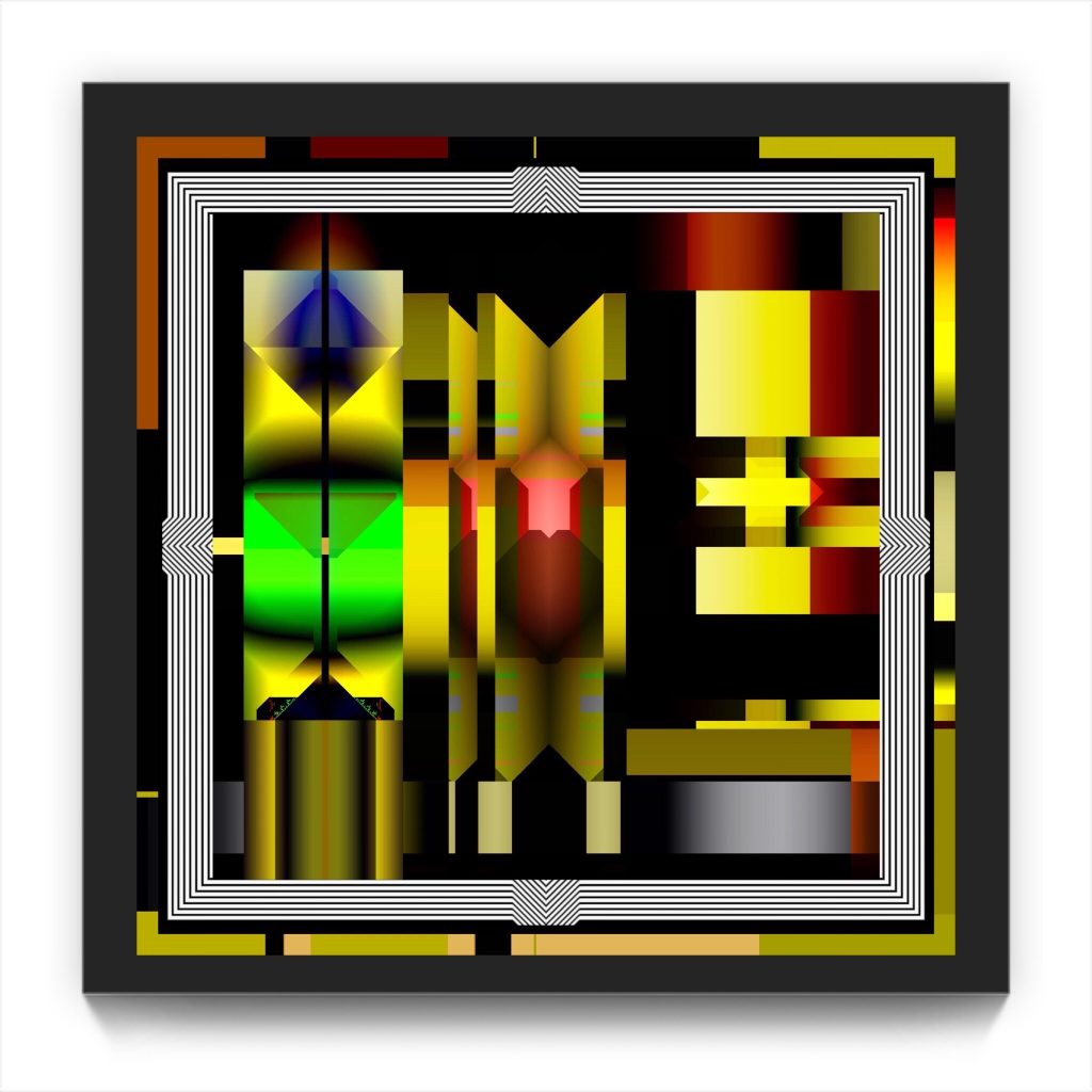 Krell . original digital iphone abstract