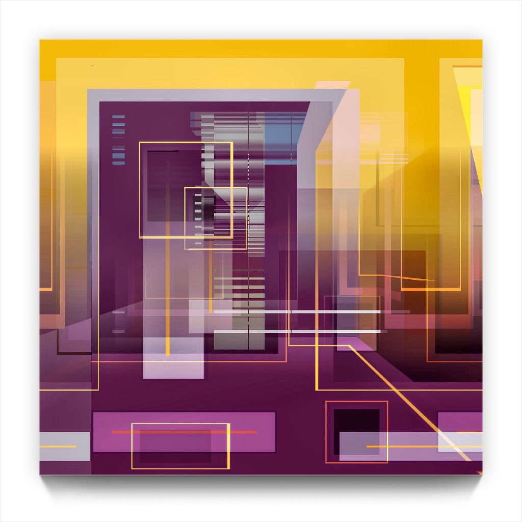 abode . original digital abstract iphone abstraction