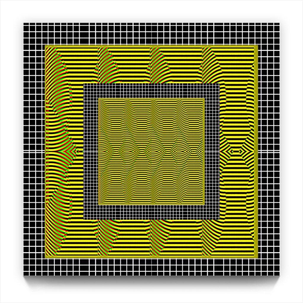 QUANTUM GEN . original non-derived iphone abstract