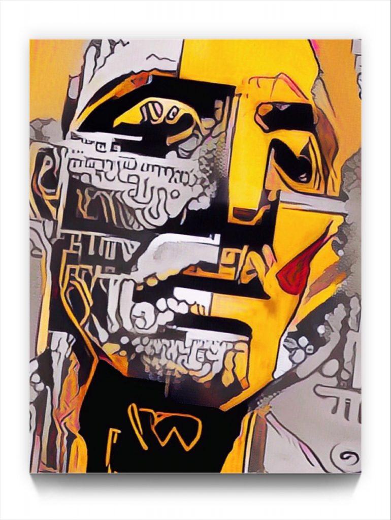 NEURALiSM : the Portrait 17 . 2 . digital figurative iPad stukist abstraction