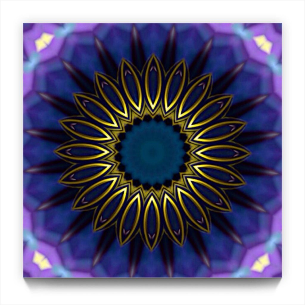 Mandala 9 . 2 . original non-derived iphone abstract