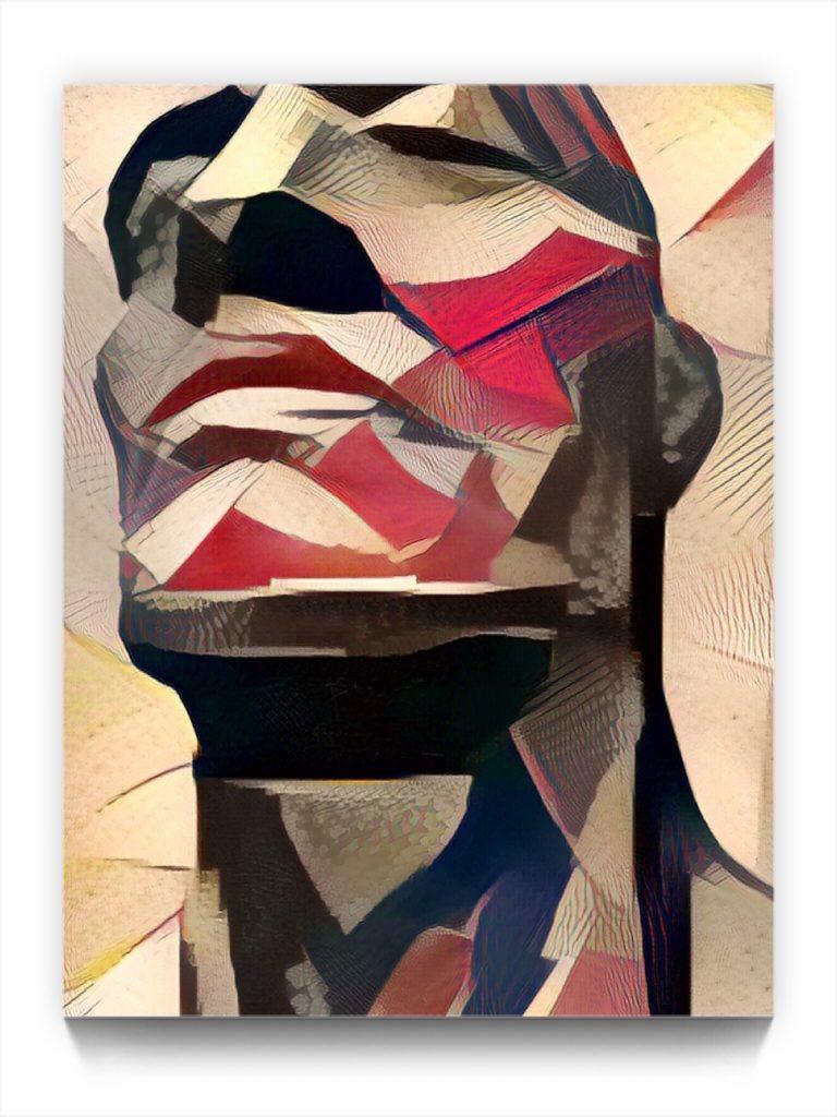NEURALiSM . the PORTRAIT 17 . 35 . figurative stukist ipad portrait