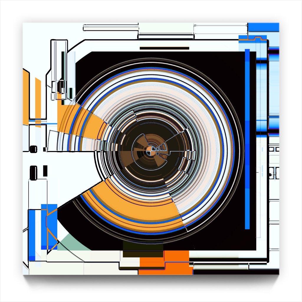 cyclotron . pocket edition . digital abstract iphone abstraction