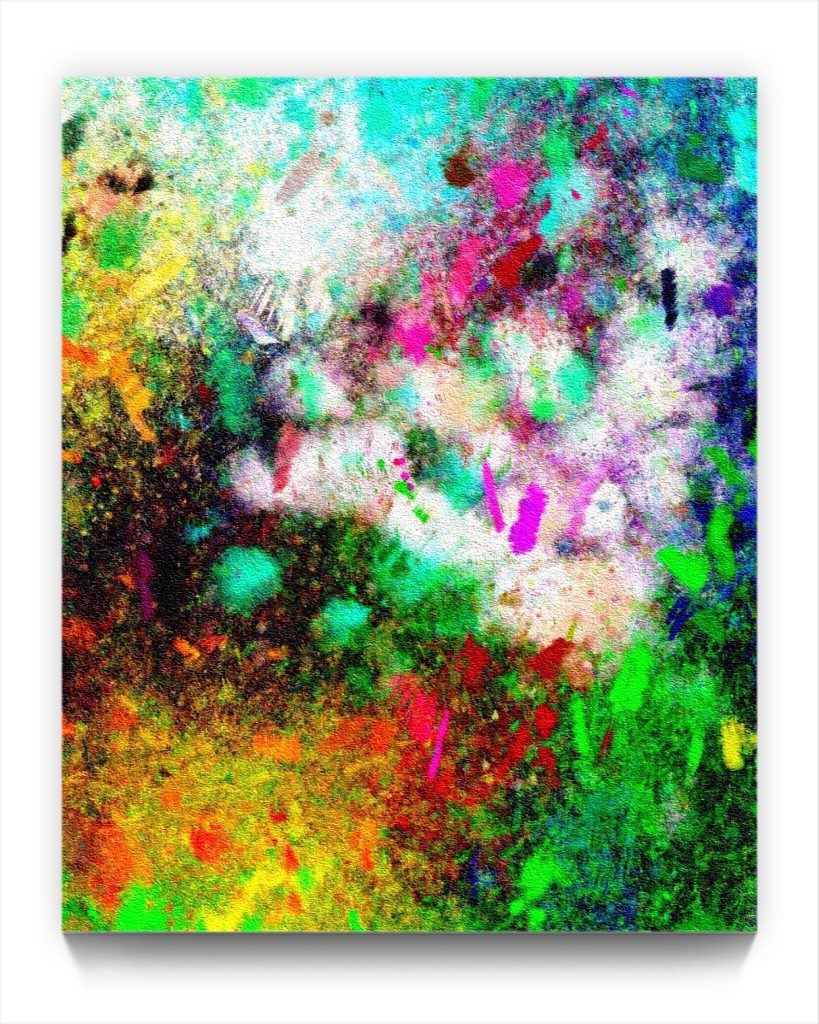 xpression 19 . 1 . original digital ipad abstract expression painting