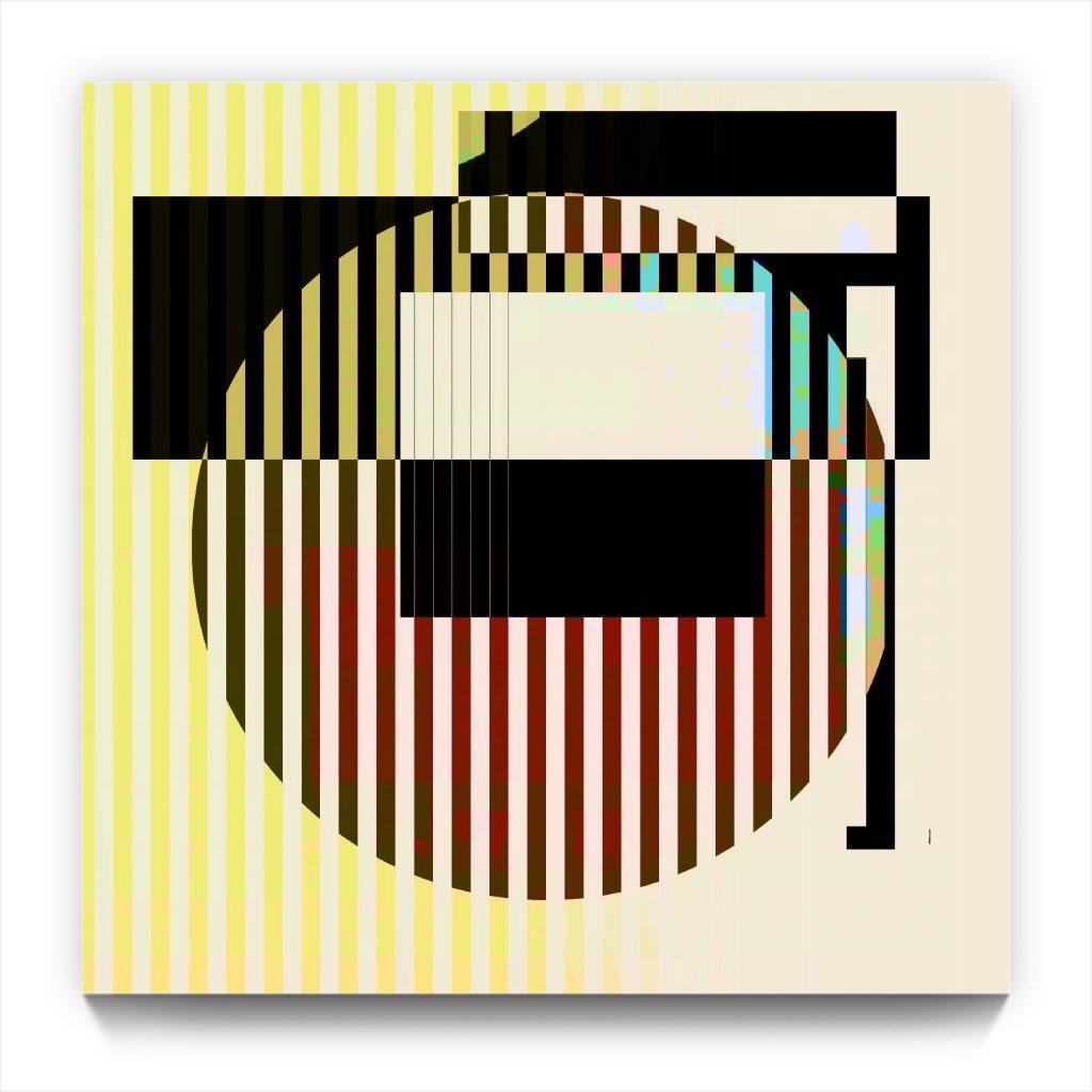 locator : pocket edition . original digital abstract iPhone abstraction
