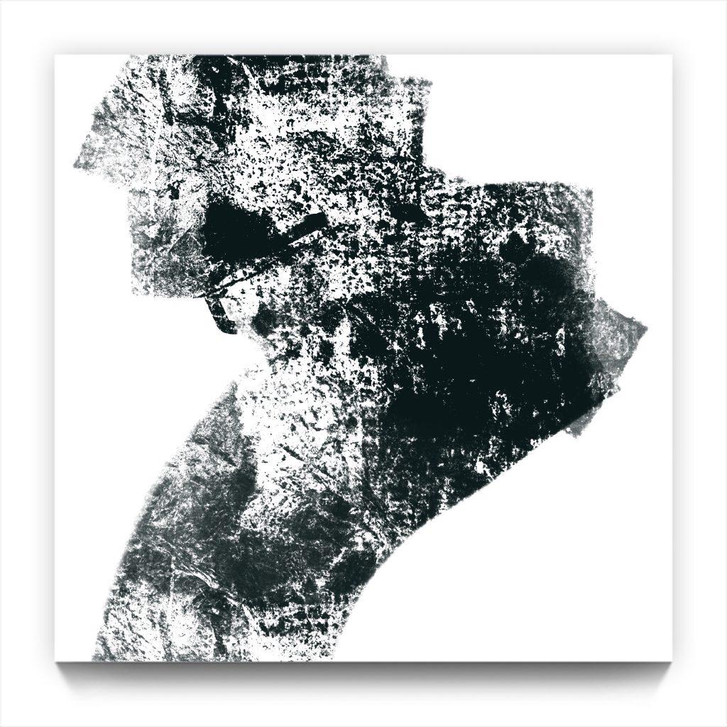 odays Rorschach . original digital iphone abstract painting