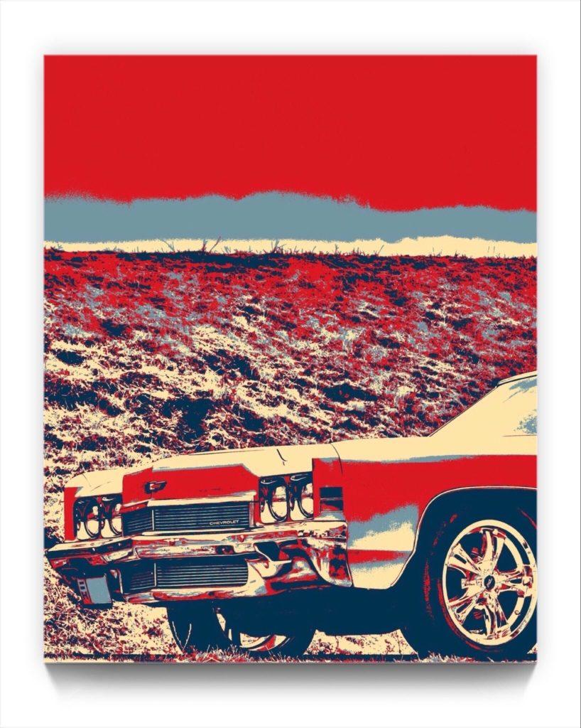yesterday's wheels . digital iphone netart