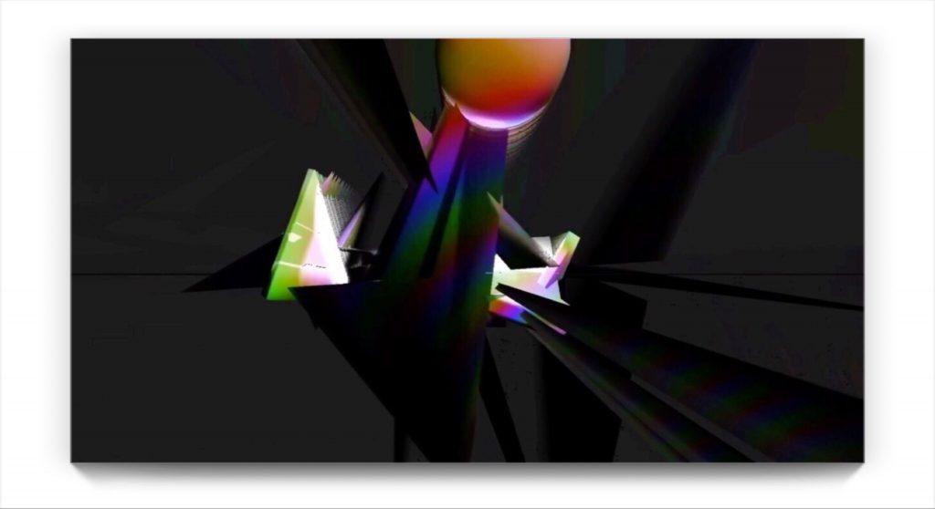 N F B F I . original digital ipad abstraction