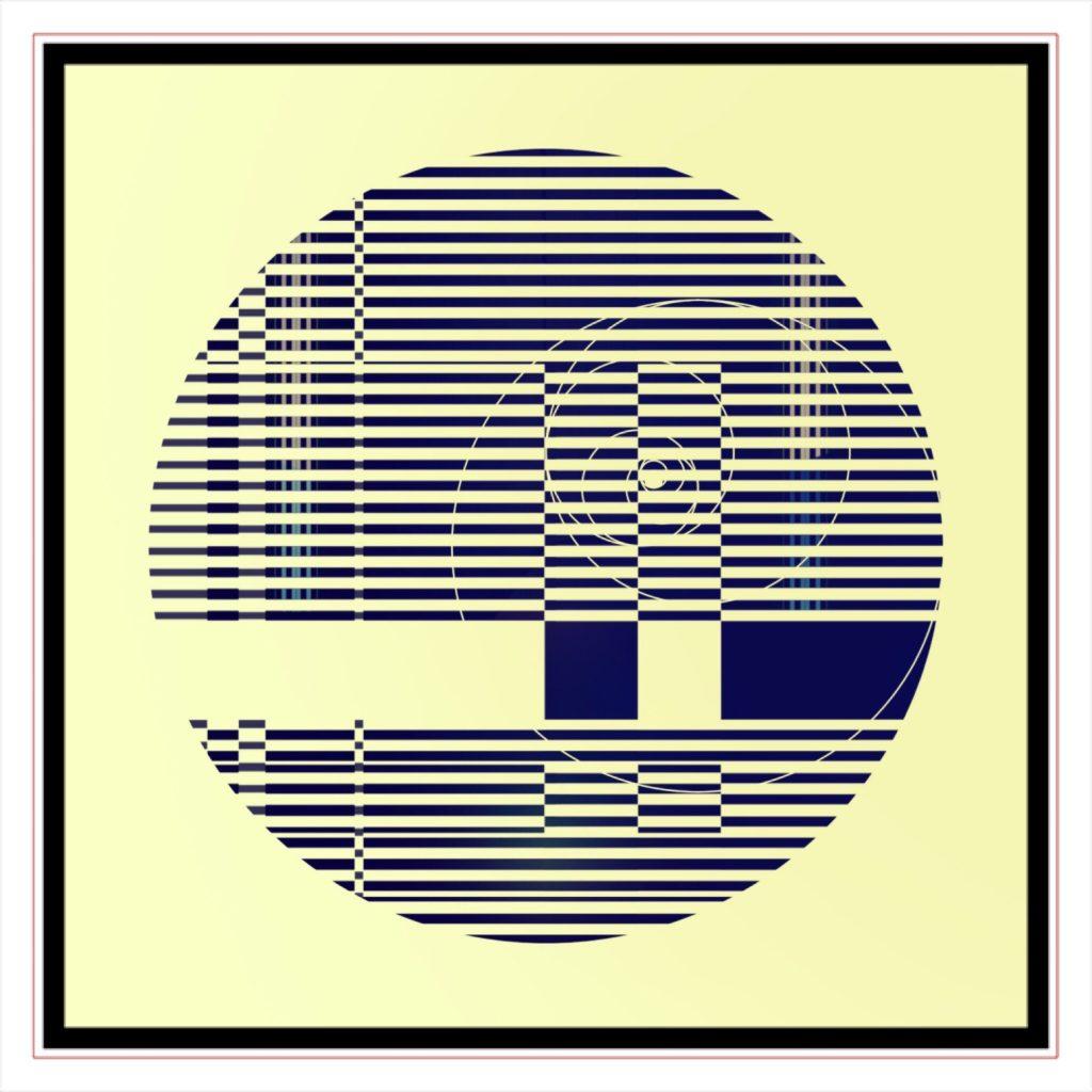 RATIO 18 . 1 . original digital ipad abstract