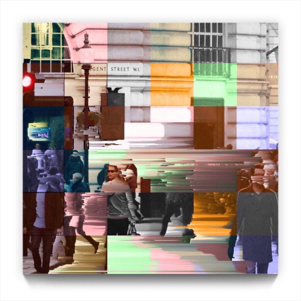 Regent Street : 18 . 1 . digital figurative netart