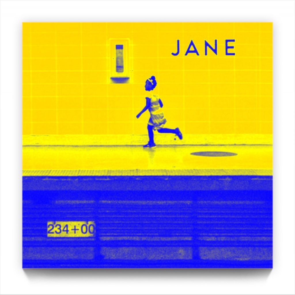 There goes JANE . figurative iphone netart