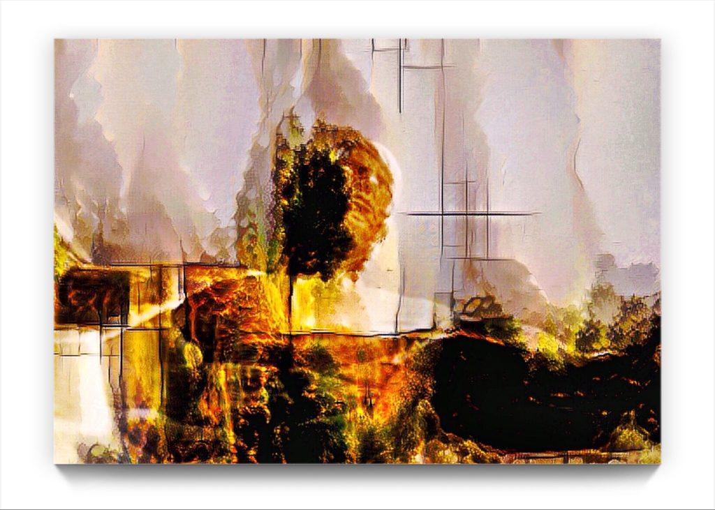 NEURALiSM : 18 . 12 . figurative ipad stukist landscape