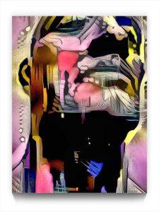 NEURALiSM : the PORTRAIT 18 . 6 . digital figurative ipad portrait