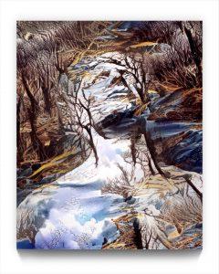 EURALiSM . PM 18 . figurative iPad stukist landscape