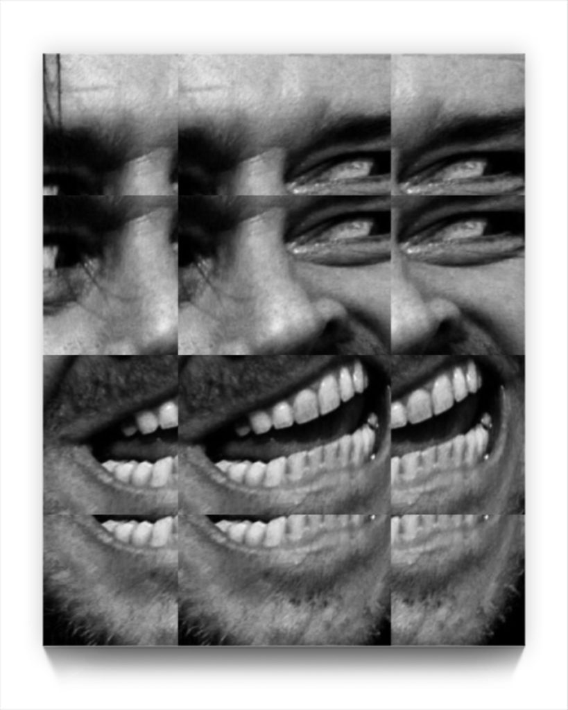 Here's Johnny ! . figurative iphone netart