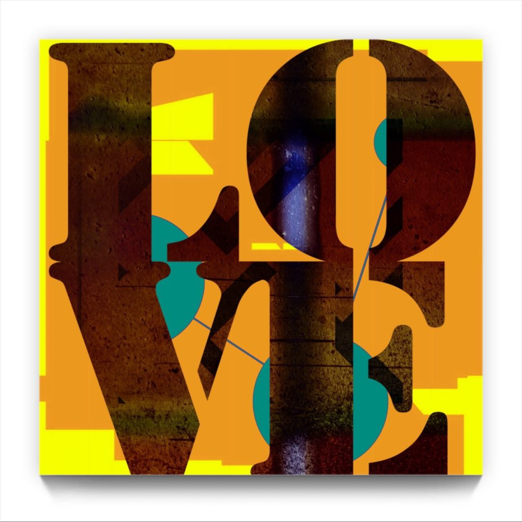 LOVE . 18 . 6 . digital figururative iphone netart