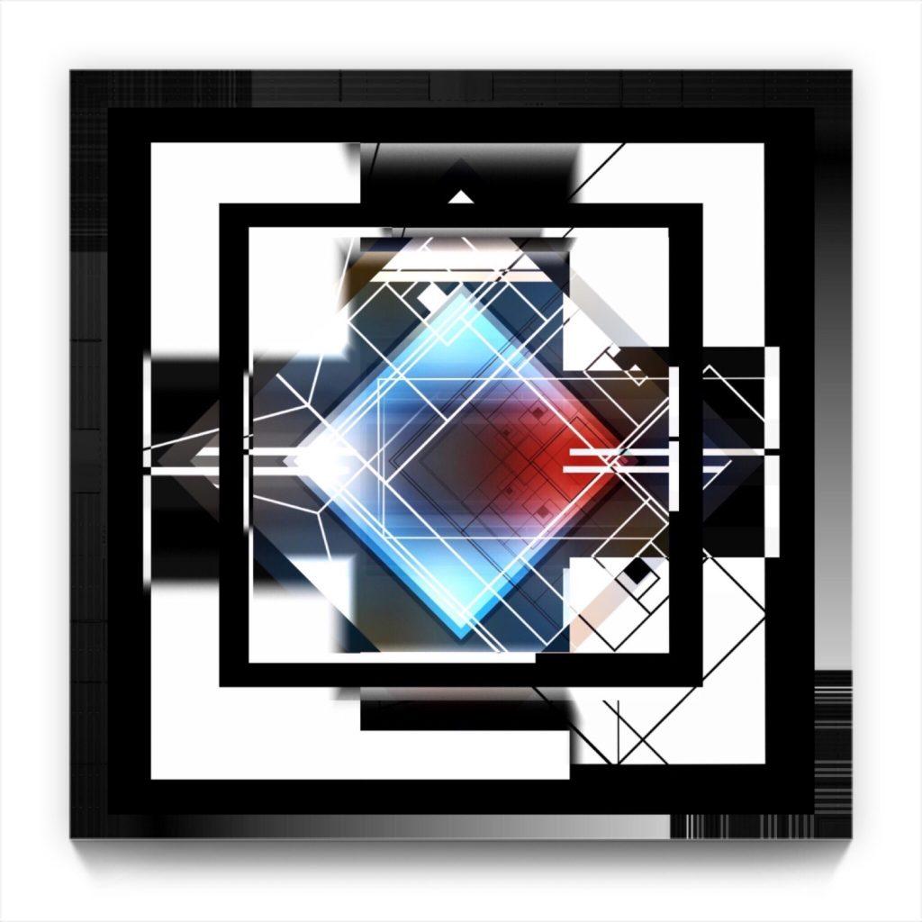 Hide & Seek . original iphone geometric abstract