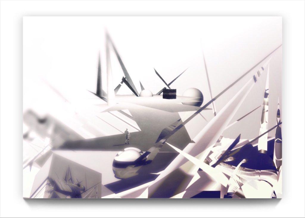 KAABA .. original figurative ipad landscape