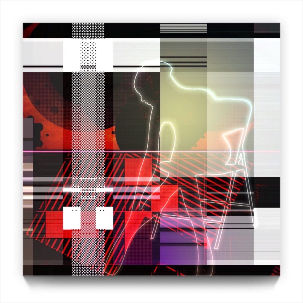 da sophisticate : 18 . 4 . digital figurative iphone abstract
