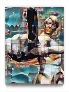 NEURALiSM . PM 18 . 1 . digital figurative ipad stukist portrait