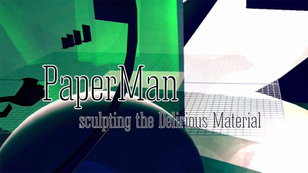 PAPERMAN : Sculpting the Delirious Material