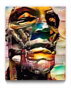 URALiSM : 17.78 . the Portrait . figurative iPad stukist portrait