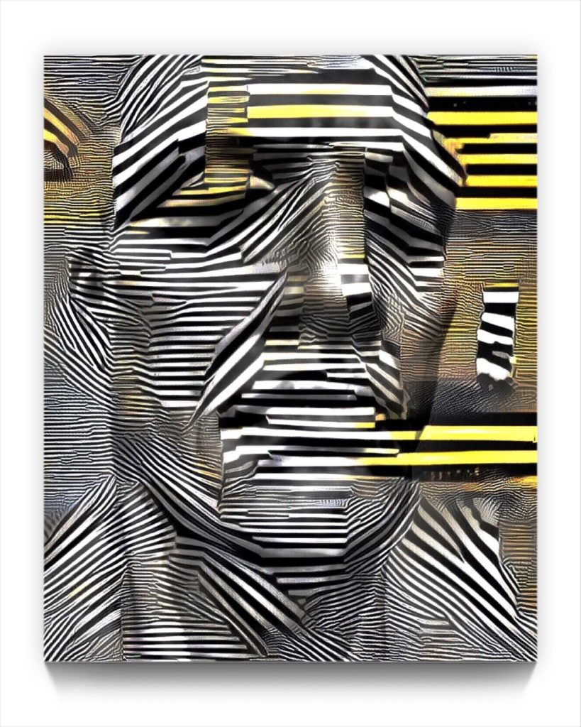 NEURALiSM . Portrait . PM 2 by newmeida iphone artist Mark Sedgwick